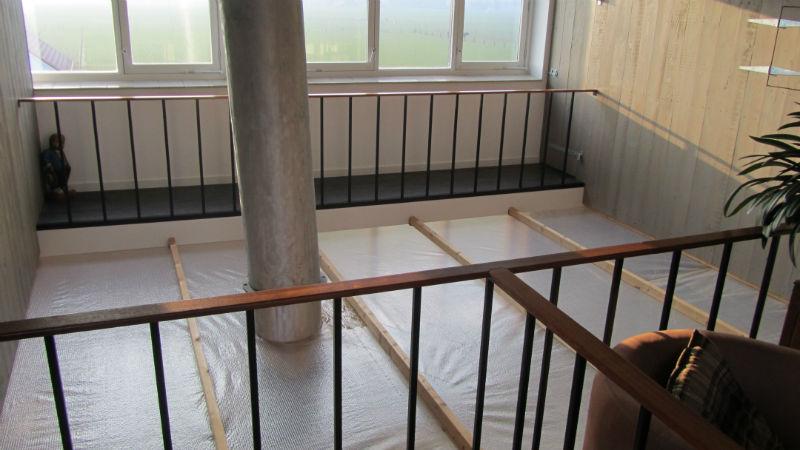 Renovatie trap nieuwe balustrade bovenverdieping de klinkhamer - Balustrade trap ...