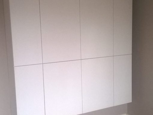 Wandkast vrijhangend