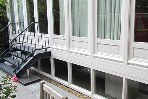 Keuken In Souterrain : Acht nieuwe ramen in amsterdams souterrain de klinkhamer