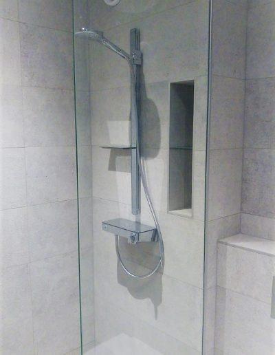 Badkamer vernieuwd