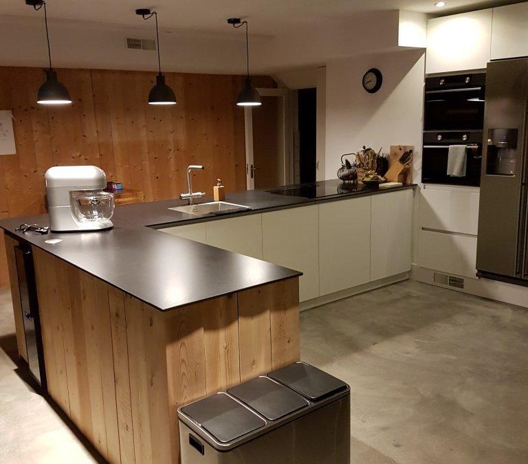 Eindelijk; een keuken!
